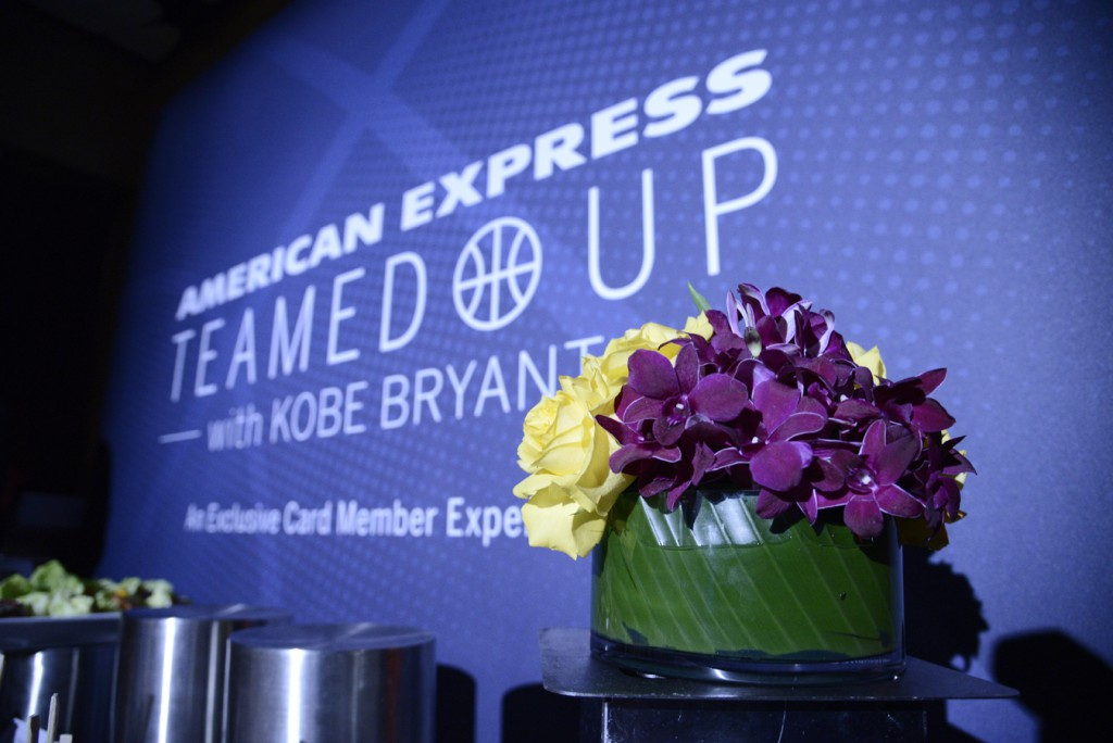 Kobe Brynt American Express Press Event005