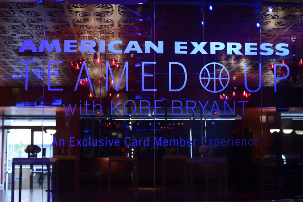 Kobe Brynt American Express Press Event122