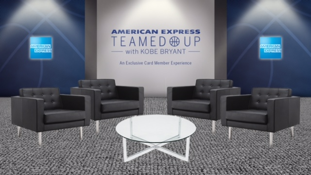 teamed up american express kobe bryant