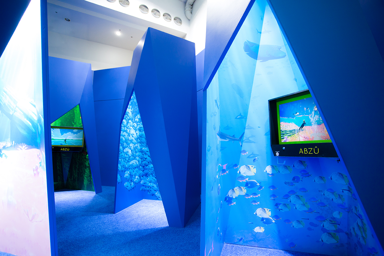 ABZU EXHIBIT FOR 505 GAMES AT E3