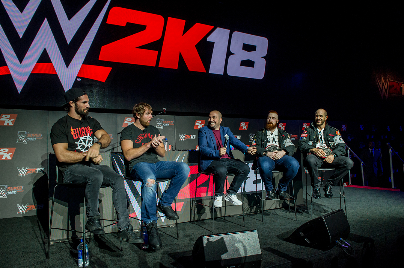 WWE2K18 VIDEO GAME LAUNCH